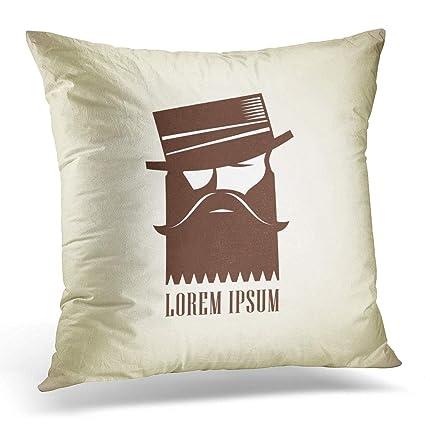 Amazon Adlington Throw Pillows Cover Club Vintage Hipster Man Impressive Hipster Decorative Pillows