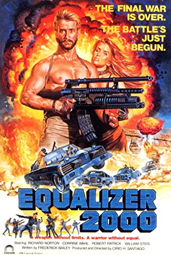 Equalizer 2000 (1987) Movie Poster - Equalizer Poster