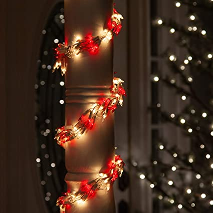 wintergreen lighting garland lights garland outdoor lights garland christmas outdoor lights garland string lights
