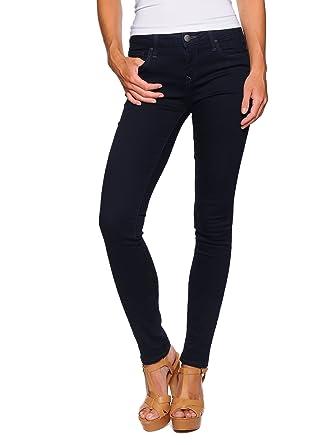 Mavi Damen Jeans Nicole Superskinny Fit Blau Mid Brushed Uptown Str