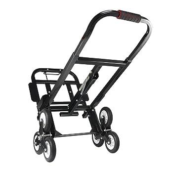 Aluminio de Carro Escaleras, Escalera portátil Carretilla de Mano Carro 330 libras/150kg,