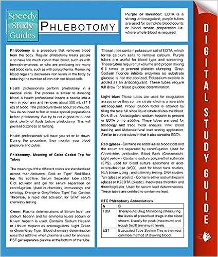Amazon phlebotomy speedy study guides ebook speedy phlebotomy speedy study guides kindle edition fandeluxe Gallery