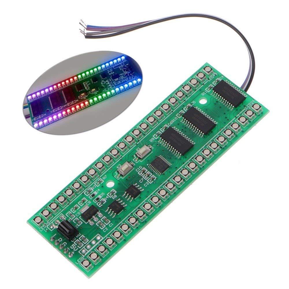 12dea5e8 LED Indicator RGB MCU Display Pattern Dual Channel 24 LED VU Level  Indicators Meter F Amplifier: Amazon.com: Industrial & Scientific