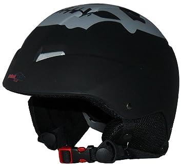 Casco de esquí y casco de snowboard VS-206-SK negro-mate -