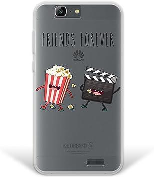 WoowCase Funda Huawei Ascend G7, [Hybrid ] Friends Forever ...