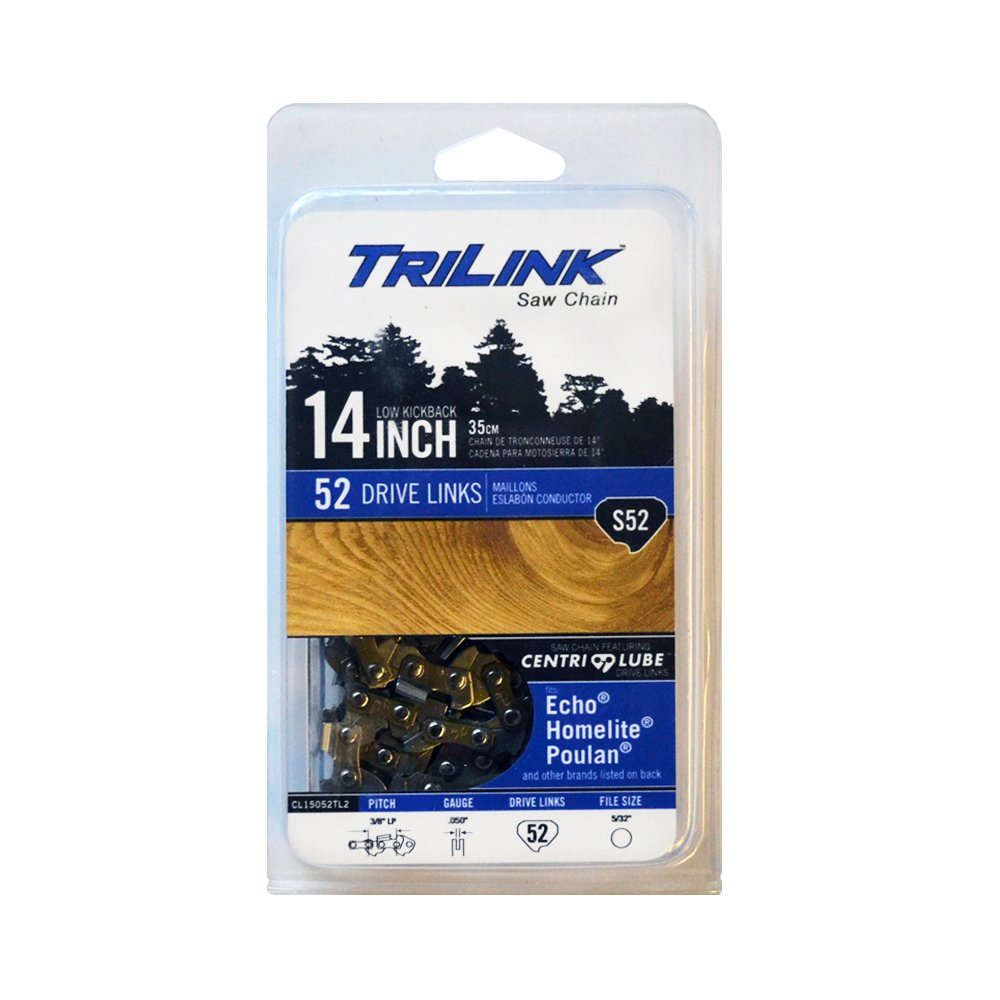 Trilink Saw Chain CL15052TL2 CP 5 S52 CL 14 Chain