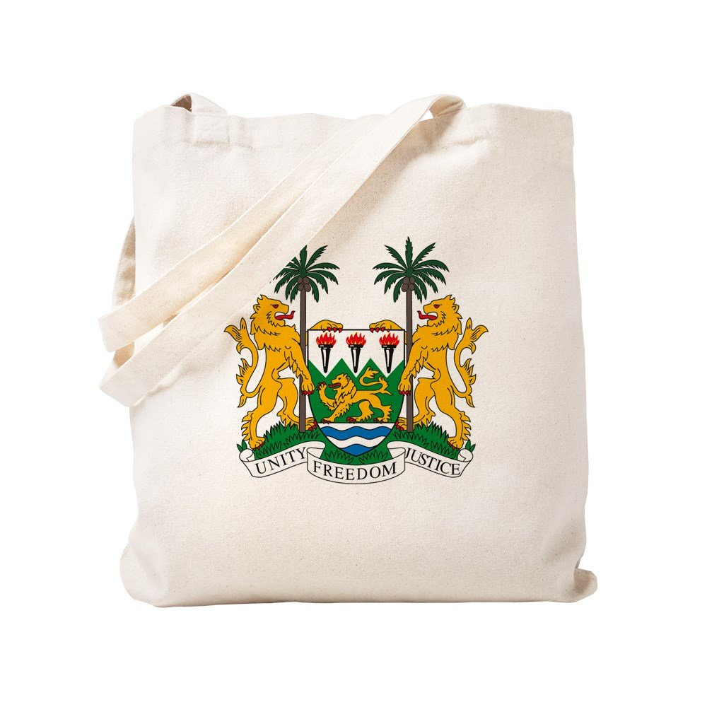 CafePress - Sierra Leone Coat Of Arms - Natural Canvas Tote Bag, Cloth Shopping Bag