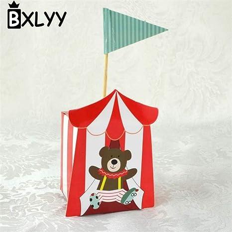 Amazon.com: CHITOP Caja de caramelos de circo creativo para ...