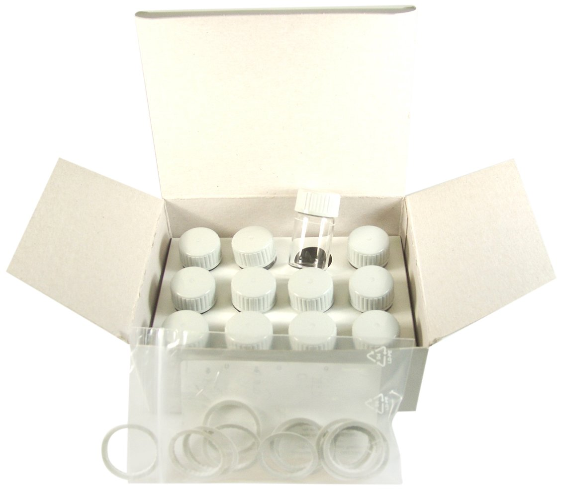 YSI 251393Y Sample Cuvette for 900 Chlorine Colorimeter (Pack of 12)