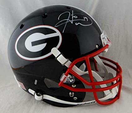 b5e35a27e8e Amazon.com: Hines Ward Autographed Georgia Bulldogs Schutt F/S Black  Helmet- -W Auth *Wh - JSA Certified - Autographed College Helmets: Sports  Collectibles