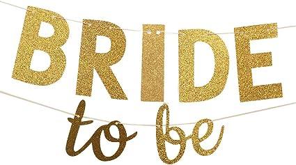 bridal shower decor Bridal Shower Banner Bride to be Banner shower decoration Bachelorette Party -Coral Gold Wedding banner