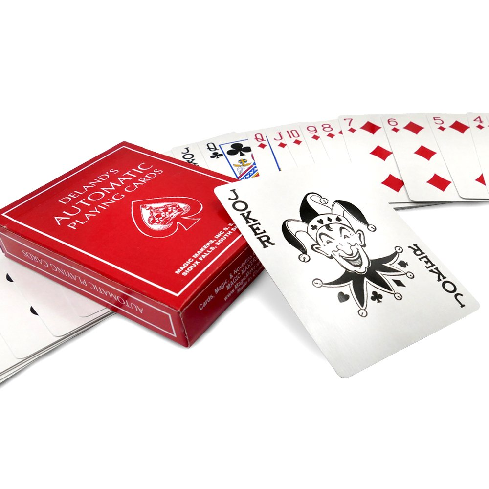 Magic Makers The Automatic Deck DeLands Marked Deck Red Edition