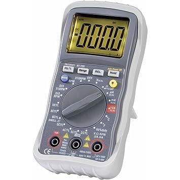 VOLTCRAFT AT-200 Hand-Multimeter  digital KFZ-Messfunktion CAT III 600 V Anzeige