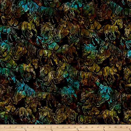 Horse Batik Fabric - 4
