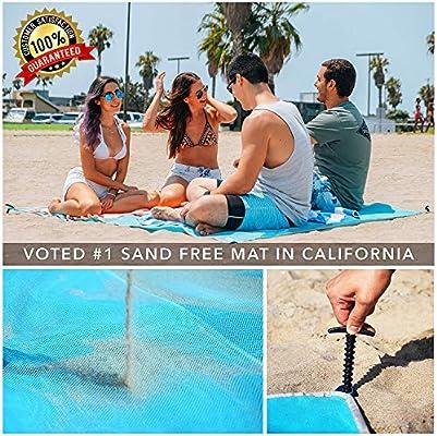 Camping & Hiking Useful Beach Mat Magic Sand Mat Beach Sand Drain Mat Outdoor Travel Mattress Summer Vacation Camping Accessories Sports & Entertainment