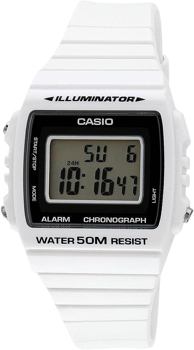 CASIO Reloj de Cuarzo W-215H-7A