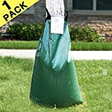 cyrico Tree Watering Bag Premium 1 Pack 20 Gallon Watering Bag for Tree Made of Sturdy PVC with Heavy Duty Zipper Slow Releasing Tree Watering Bag Automatic Watering Tree (1)