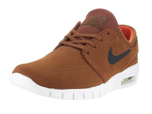 0c2d561bdb Nike Men's Stefan Janoski Max L Hazelnut/Black Ivory Clay Oran Skate Shoe  (8): Buy Online at Low Prices in India - Amazon.in
