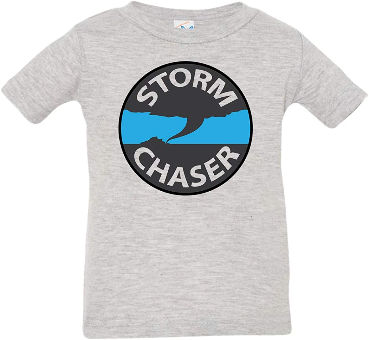 Tenacitee Babys Storm Chaser Badge Shirt