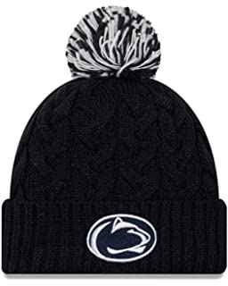 fcf51bc136b New Era Penn State Nittany Lions Womens NCAA Cozy Cable Knit Beanie - Team  Color