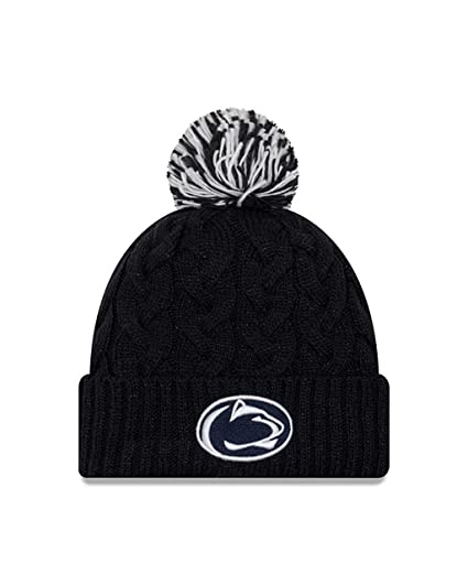 3e4bd3c5d5d Image Unavailable. Image not available for. Color  New Era Penn State  Nittany Lions Womens NCAA Cozy Cable Knit ...
