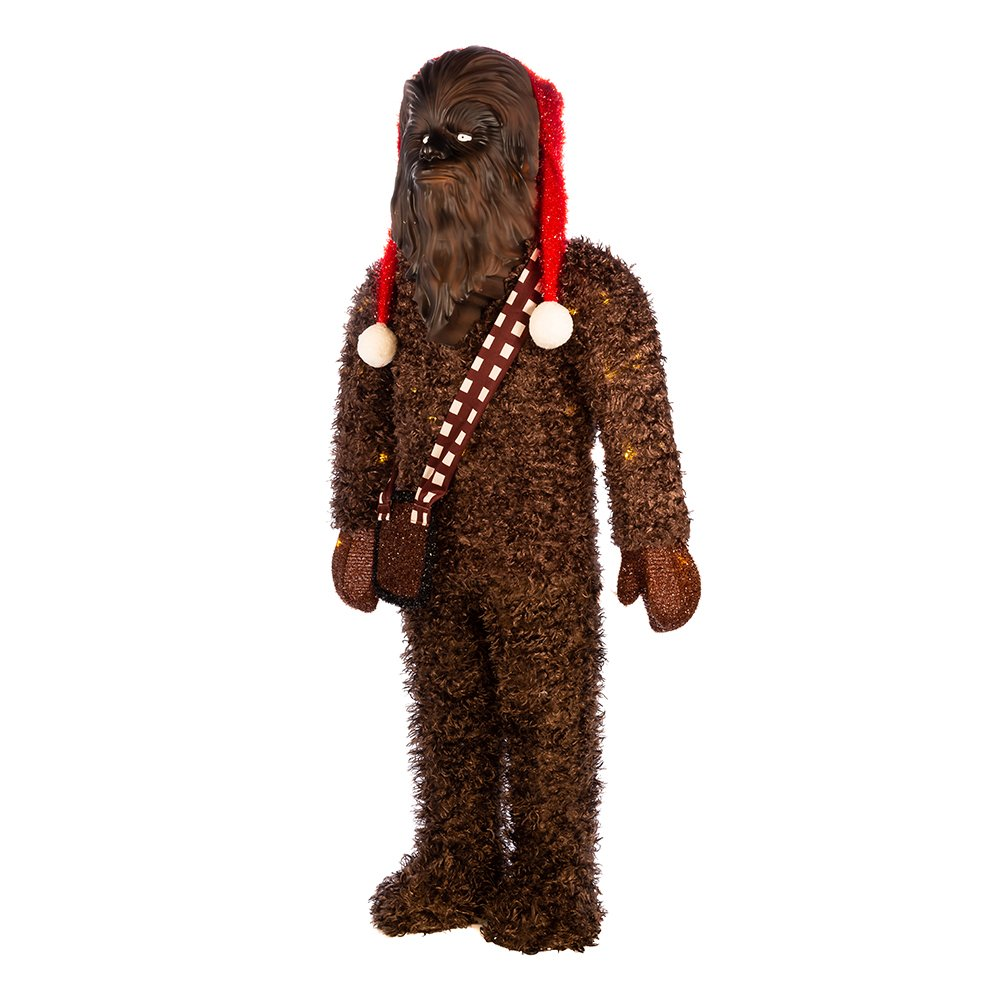 Kurt Adler 36-Inch Star Wars Chewbacca Tinsel Lawn Décor