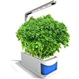 Decdeal Herb Light Multifunctional Smart Indoor Herb Gardening Planter Kit Hydroponic Growing System with LED Plant Grow Light AC220-240V