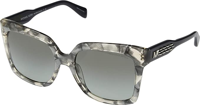 Michael Kors 0MK2082 Gafas de sol, Pink Silver Flakes, 55 ...