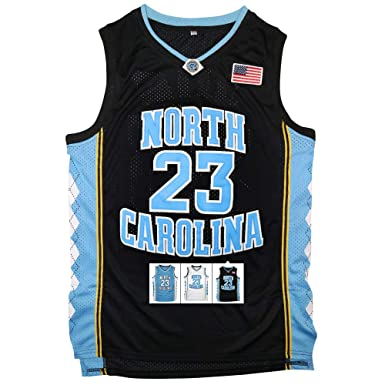 747647aa5d6 Antsport  23 North Carolina Mens Basketball Jersey Retro Jersey S-XXXL  (Black