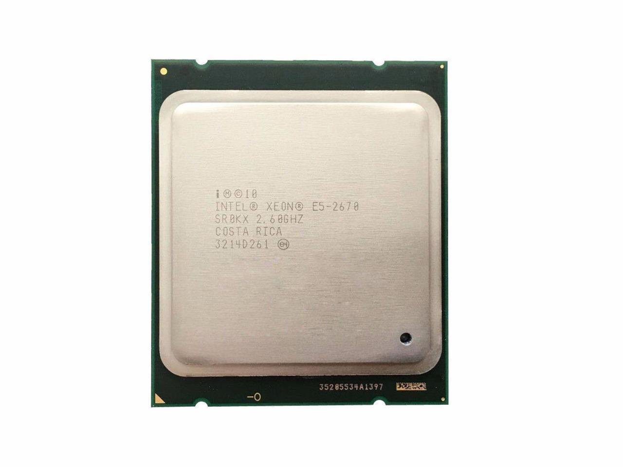 Amazon.com: Intel Matching Pair Xeon E5-2670 Eight Cores Processors 2.60GHz  20MB Smart Cache 8.00 GT/S QPI TDP 115W SR0KX BX80621E52670: Computers & ...
