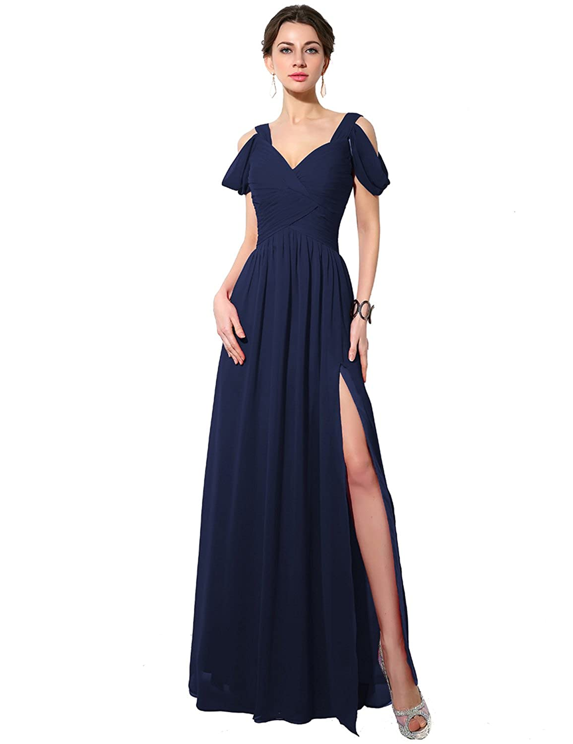 186navy bluee Sarahbridal Women's Mermaid Evening Ball Dress 2019 Formal Long Prom Gowns