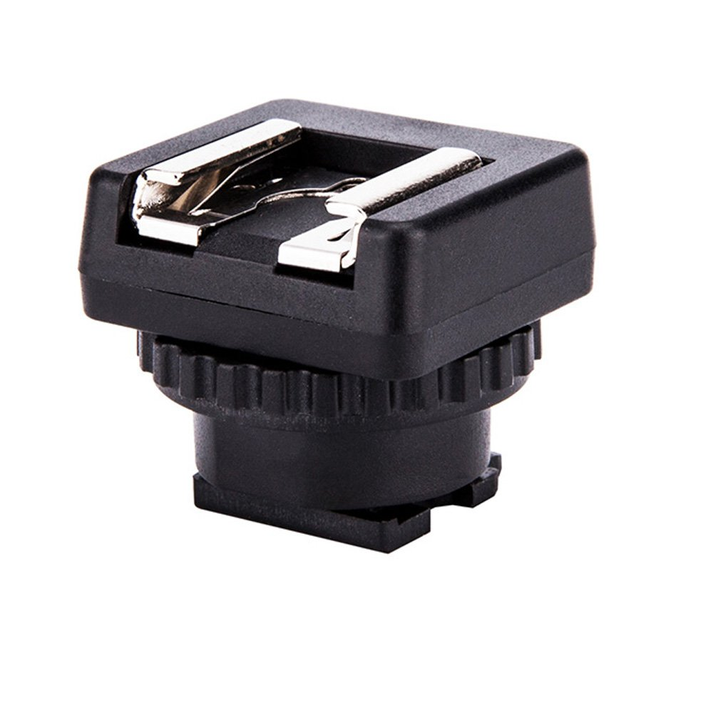 JJC Microphone & LED Light Shoe Adapter Converter for Sony FDR-AX53 FDR-AX33 FDR-AX100 FDR-AX700 FDR-AX45 FDR-AX60 HDR-CX675 HDR-CX900 HDR-CX680 and More Sony Camcorder with Multi Interface Shoe by JJC