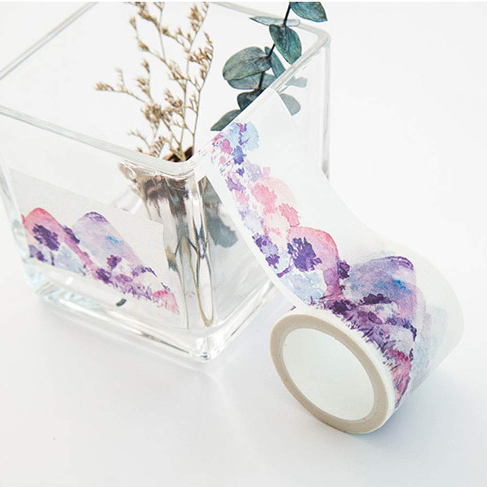 Healifty Planner Tape Stickers Beautiful Diy Sticky Paper Tapes Christmas Gifts for Kid Child Girl 40mmx7m