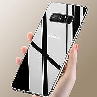 vitutech Coque de Protection en Silicone TPU pour Samsung Galaxy Note 8 - Transparent