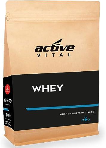 Leche activevital proteína de leche pequeño Pure en polvo (Suero de Leche) 450 G – Sabor Neutro