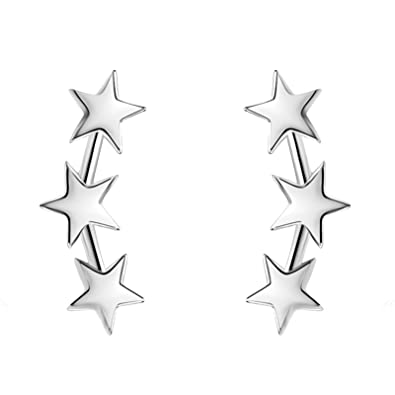 stud moon grande star earrings products hooks luxe and
