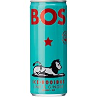 BOS ICE TEA LIME&GINGER CAN 12X250ML