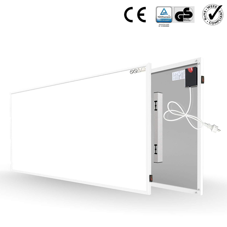 Byecold Infrarotheizung 300W Infrarot Wandheizung Elektroheizung Heizplatte Heizpaneel Energiesparend /Überhitzungsschutz Carbon Crystal mit RoHS CE GS