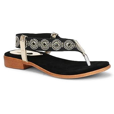 2a61e584eeb33 JIN Women Sandals Summer Flats Flip Flops Slippers, Women's Sandals ...