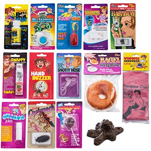 Pranks & Gag Set - Practical Joke , Prank Stuff , Prank Kit- Gift Gag Tricks by Tigerdoe (Prank Kit 14 Pc)