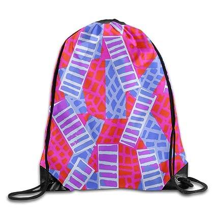 Drawstring Bags Gym Bag Travel Backpack, Fashion Geometric Figure, Best Gym  Backpacks For Teen f0ecbe2200
