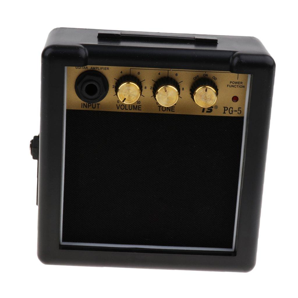 Sharplace Mini Portátil 5w 9v Guitarra Eléctrica Amplificadores Altavozces Piezas de Reemplazo: Amazon.es: Instrumentos musicales