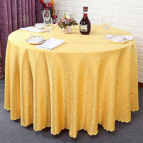 HL-PYL Hochzeit - Hotel Hochzeit HL-PYL Tischdecken Restaurant rechteckige Hotel Tabelle runde Tischdecken Tuch Tuch Golden Circle 3,8M cfddf5
