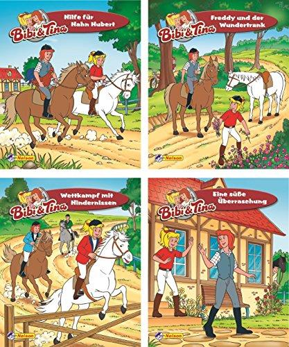 Nelson Mini-Bücher: 4er Bibi und Tina 21-24