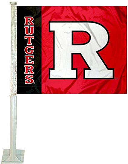 College Flags /& Banners Co Rutgers University Scarlet Knights House Flag