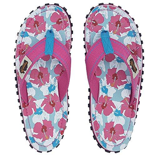 Infradito EU Gumbies Sandali 36 UK Spiaggia da hibiscus Islanders 12 Calzature mixed Adulto Numero Ertwnq8Htx