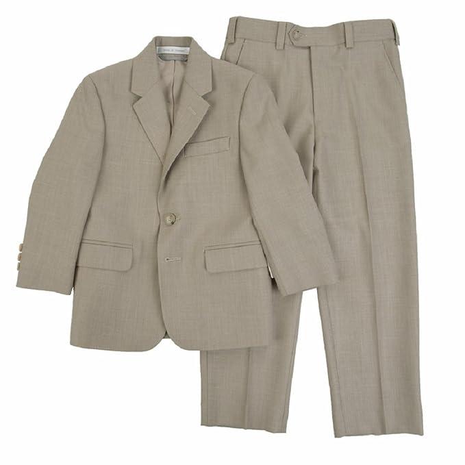 Amazon.com: Marc Nueva York Boys 4 – 7 traje, 12 normal ...