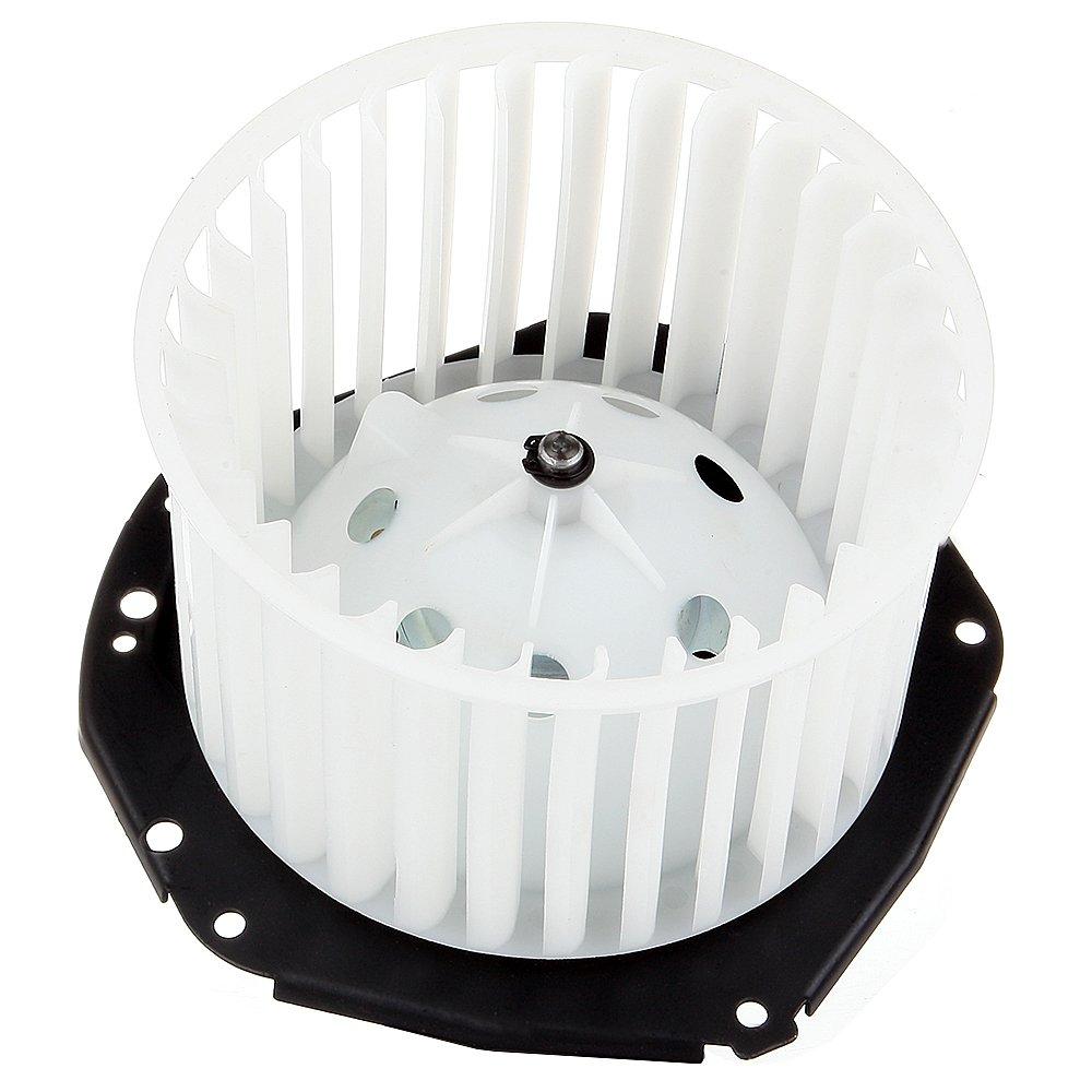 HVAC plastic Heater Blower Motor w/Fan ABS Cage ECCPP for 1986-1995 Chevrolet Astro /1992-1996 Chevrolet C1500 /1995-1996 Chevrolet Tahoe /1992-1996 GMC C1500