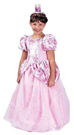Prinzessin Ronya Kinder Kostum Mit Reifrock Rosa Barock Madchen
