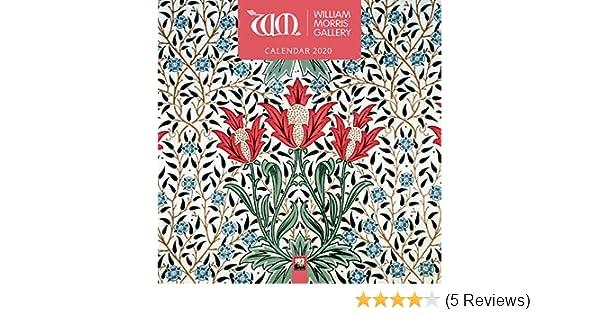 William Morris Gallery Wall  Art Calendar 2020